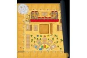 999 Games Camel Up playmat Grandprix of the Sahara