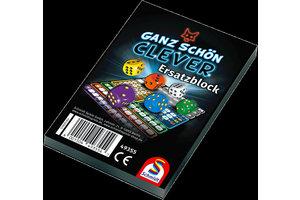 999 Games Clever Scoreblok - 2stuks