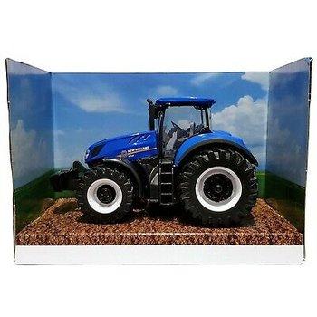 Bburago traktor New Holland T7.315 frictie - 10cm