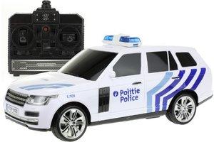 R/C Politieauto BE met licht/geluid