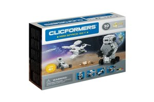 Clics Clicformers - Mini Space Set 4-in-1 (30stuks)