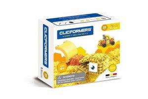 Clics Clicformers - Craft Set Geel 2-in-1 (25stuks)