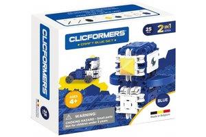 Clics Clicformers - Craft Set Blauw 2-in-1 (25stuks)