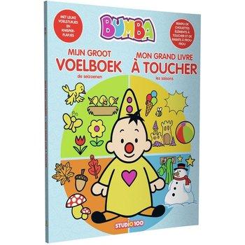 Bumba - Mijn groot voelboek (kartonboek met voelstukjes en knisperflapjes)