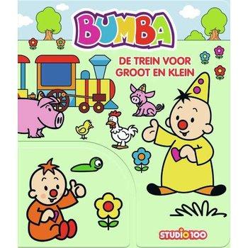 Bumba - De trein voor groot en klein (kartonboekje met flapjes)