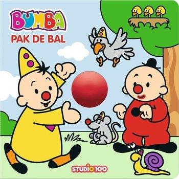 Bumba - Pak de bal (kartonboek met rollende bal)