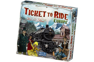 Asmodee Ticket to Ride - Europa