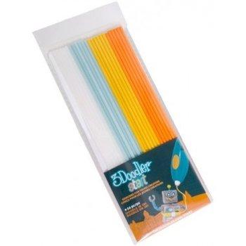 3Doodler navulling met 24 kleurstaafjes - Mix 2 (grijs/blauw/groen/rood)