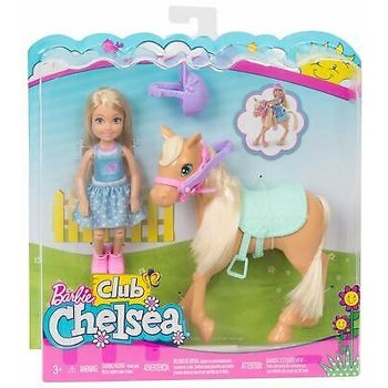 Mattel Barbie Club Chelsea - Pony
