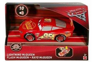 Mattel Disney Cars 3 - Lightning McQueen met licht/geluid