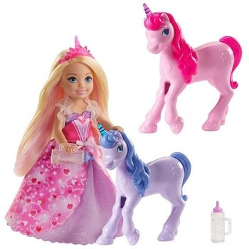 Barbie popje en eenhoorns