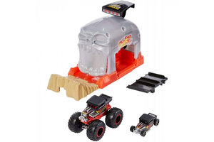Mattel Hot Wheels Monster Trucks - Team Bone Shaker