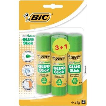 Bic BIC ECOluctions lijm stick 21gr - 3+1 gratis