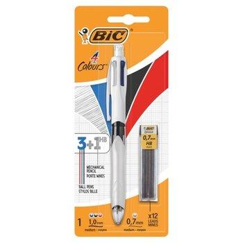 Bic BIC 4-kleurenbalpen (3-kleuren + vulpotlood HB 0,7mm)