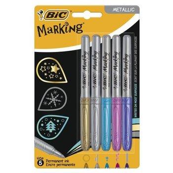 Bic BIC Permanent Marker Metallic - 5stuks