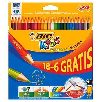 Bic BIC Kids Kleurpotloden ECOlutions Evolution - 18+6 gratis