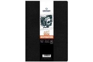 Canson Canson Schetsboek Art Book Inspiration A4 - 2stuks (zwart/grijs)