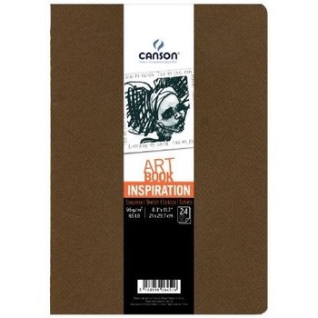 Canson Canson Schetsboek Art Book Inspiration A4 - 2stuks (bruin/beige)