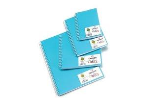 Canson Canson Schetsboek (spiraal) PP/A4 (210x297mm) 120gr/50vel - blauwe kaft