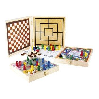421 Game in beukenhouten box
