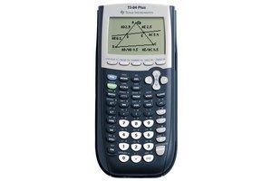 Esselte Rekenmachine (grafisch) Texas Instruments TI-84 Plus met USB Link - zwart