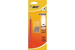 """Bic BIC Tekenpenhouder """"Atome"""" met 6 pennen"""