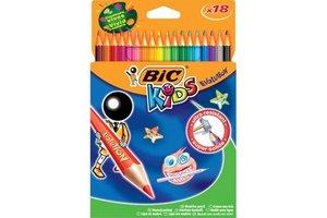 Bic BIC Kids Kleurpotloden ECOlutions Evolution - 18stuks