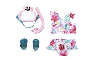 Zapf BABY Born - Holiday Deluxe Bikini Set 43cm