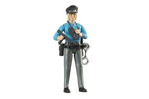 Politievrouw light met accessoires