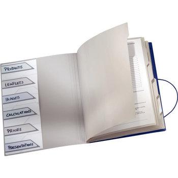 Esselte 6 tabs divider book