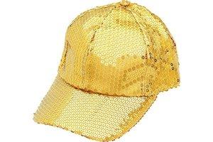 Gouden Glitterpet
