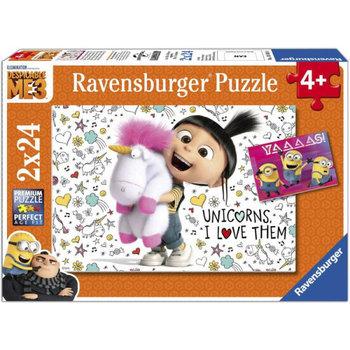 Ravensburger Puzzel (2x24stuks) Verschrikkelijke Ikke 3 - Agnes en de Minions