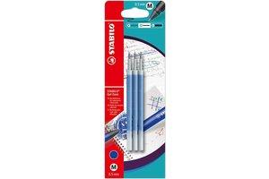 Stabilo Stabilo Gel Exxx refill M (0,5mm) - 3stuks (blauw)