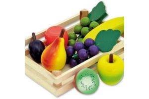 Fruit in houten krat