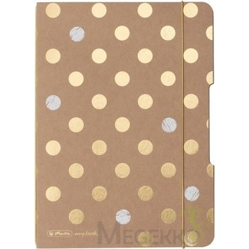 Pelikan Herlitz Notitieboek my.book flex A5/gestippeld/40blz - Pure Glam