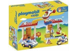 Playmobil PM 1.2.3 Politie & Ambulance