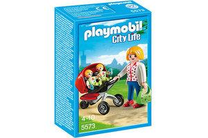Playmobil PM Tweeling kinderwagen