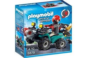 Playmobil PM Bandiet en quad met lier