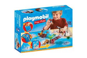 Playmobil PM Pirates - Play Map - Piraten met plattegrond