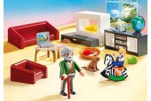 Playmobil PM Huiskamer met openhaard