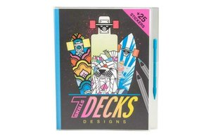 Depesche 7Skills Decks Designs - kleurboek
