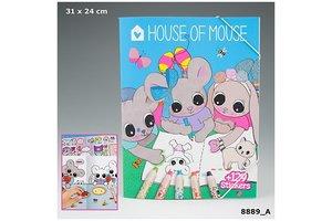 Depesche House of Mouse kleurboek