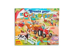 Depesche Create your Crazy Farm drawingbook