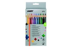 Lamy Lamy Plus kleurpotloden in kartonnen box - 12stuks