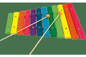Xylofoon met 12 tonen