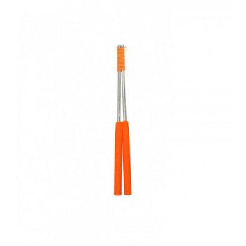 Diablostokken Alu met handvat 32,5cm - oranje