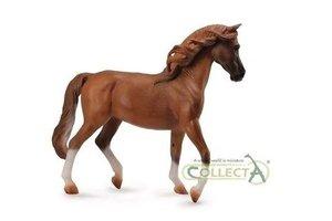 Collecta Paarden Deluxe - Arabier merrie (kastanjebruin)