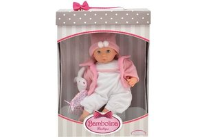 Bambolina Boutique Babypop 36cm in giftset