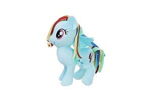 Hasbro My Little Pony knuffel pluche 13cm - Rainbow Dash