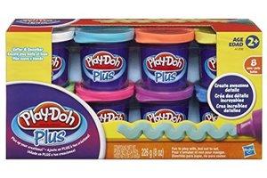 Hasbro Play-Doh Plus Variety Pack - 8stuks